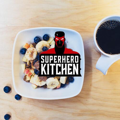 SUPERHERO KITCHEN VOLUME 1 – HIGH PROTEIN VEGAN BREAKFAST