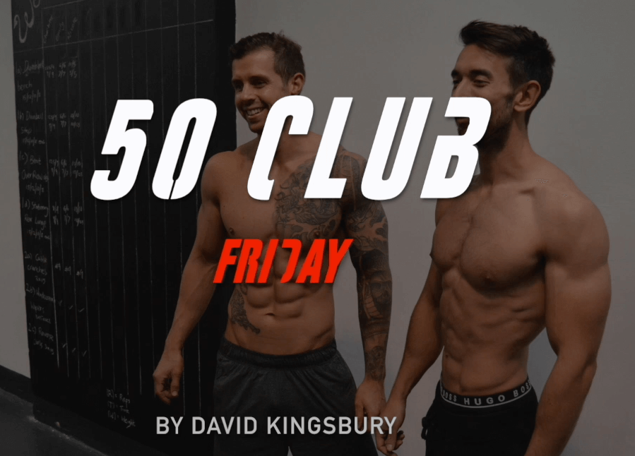 50 CLUB FRIDAY – SESSION 1