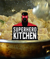SUPERHERO KITCHEN CHICKEN SATAY